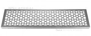 Aquascape - Drainage Channel Cover - Stainless Steel Grate - Star Hex