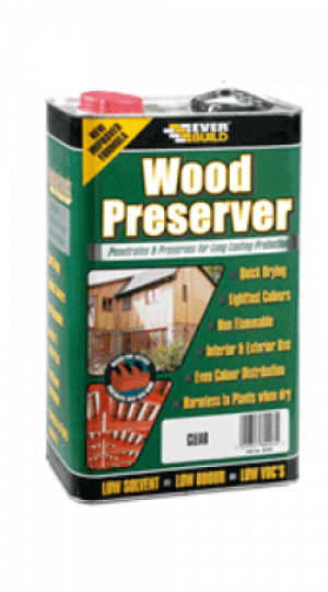 Everbuild - Golden Chestnut Wood Preserver - 5lt