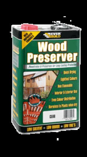 Everbuild - Golden Chestnut Wood Preserver - 5lt