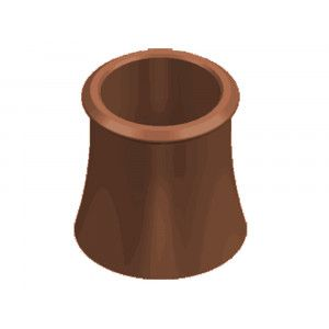 Chimney Pot - Roll Top (KYM)