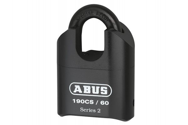 ABUS Mechanical 190/60 60mm Heavy-Duty Combination Padlock Closed Shackle (4-Digit) Carded