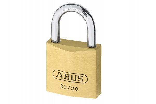 ABUS Mechanical 85/30 30mm Brass Padlock Carded