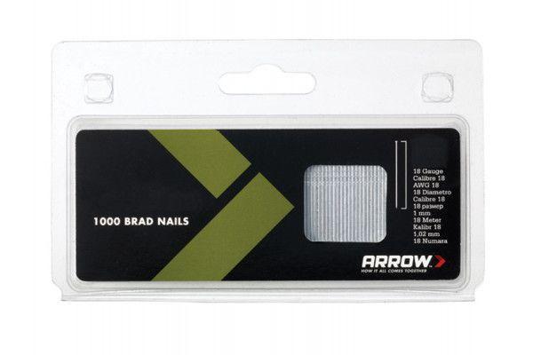 Arrow BN1832 Brad Nails 50mm 18g Pack 1000