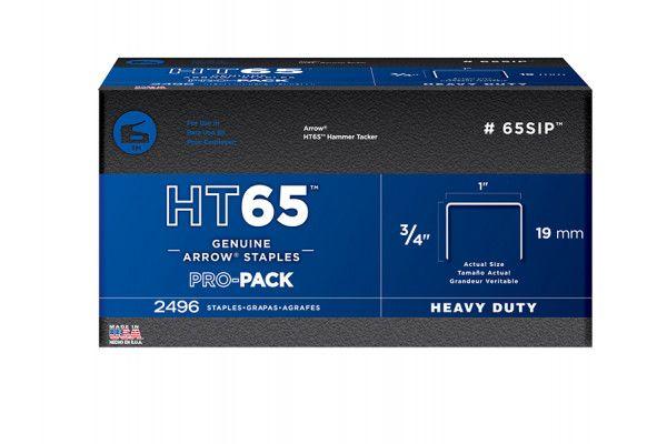 Arrow HT65S Staples 19mm (3/4in) Pack 600