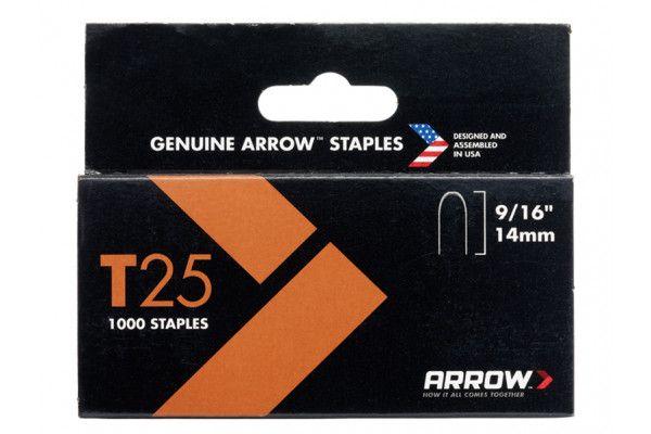 Arrow T25 Staples 14mm (9/16in) Box 5000