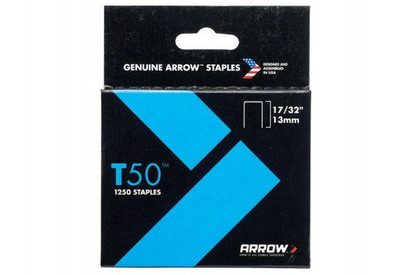 Arrow T50 Staples Ceiltile 13mm Box 1250