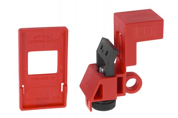 ABUS Mechanical E201 Single-Pole Circuit Breaker Lockout