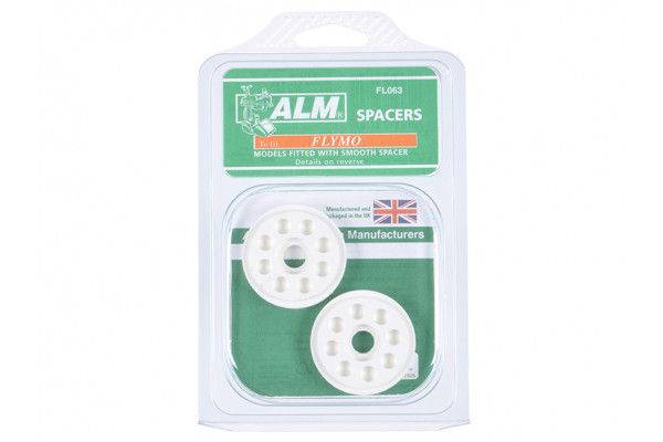 ALM Manufacturing FL063 Blade Height Spacers to Suit Flymo FLY016, 5136240-01/6