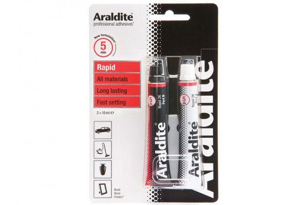 Araldite® Rapid Epoxy 2 x 15ml Tubes