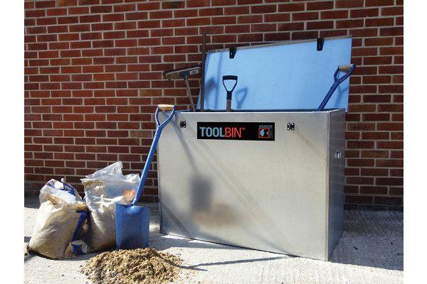 Armorgard TOOLBIN™ Galvanised Storage Box 1165 x 560 x 860mm