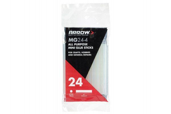Arrow MG24 Mini Glue Sticks 8 x 102mm Pack of 24