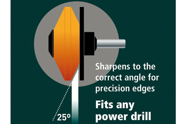 Multi-Sharp® Multi-Sharp® MS1301 Rotary Mower/ Garden Tool Sharpener