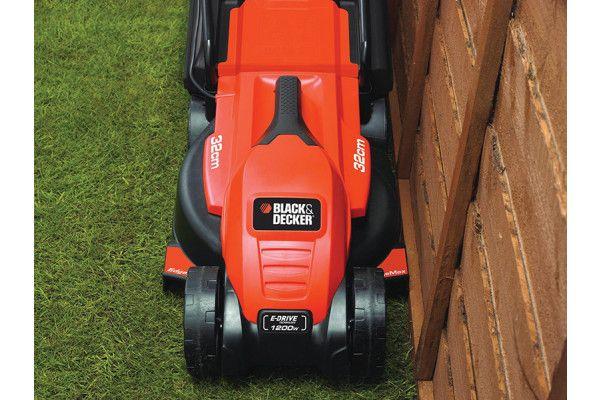 Black & Decker EMAX32S Electric Rotary Lawnmower 32cm 1200W 240V