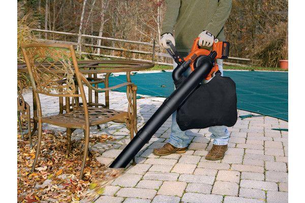 Black & Decker GWC3600L20 Cordless Blower Vac 36V 1 x 2.0Ah Li-Ion