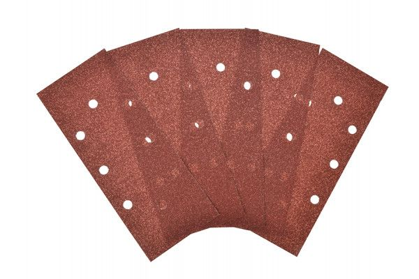 Black & Decker 1/3 Sanding Sheets Orbital Perforated Coarse Grit (Pack of 5)