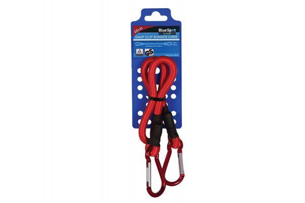 BlueSpot Tools Snap Clip Bungee 60cm x 10mm