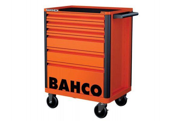 Bahco 6 Drawer B Tool Trolley K Orange