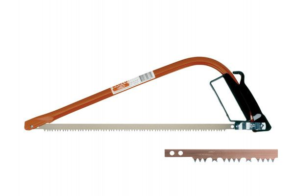 Bahco 331-21-51/23-21P Bowsaw 530mm (21in) with FREE 23/21 Green Wood Blade