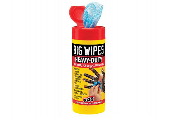 Big Wipes, Red Top Heavy-Duty Wipes