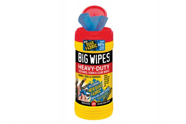 Big Wipes, 4x4 Heavy-Duty Cleaning Wipes