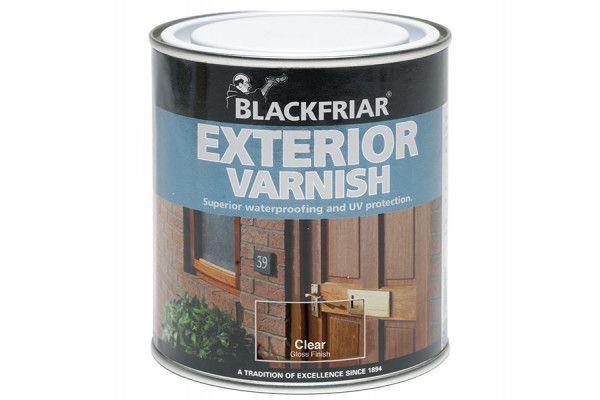 Blackfriar Exterior Varnish UV66 Clear Gloss 250ml
