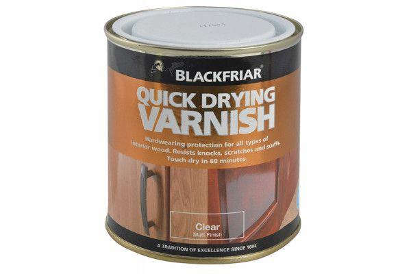 Blackfriar Quick Drying Duratough Interior Varnish Clear Matt 250ml