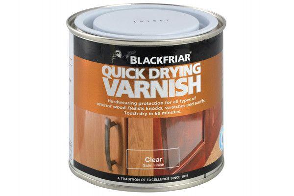 Blackfriar Quick Drying Duratough Interior Varnish Clear Satin 500ml
