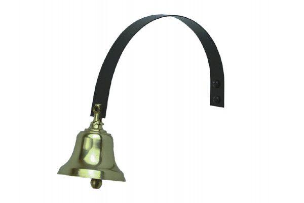 Byron 62503 Shop Bell Brass