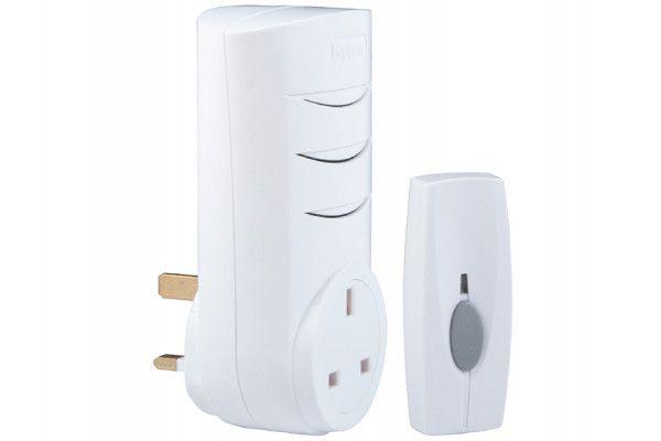 Byron BY103 Wireless Plug-Through Chime Kit 60m