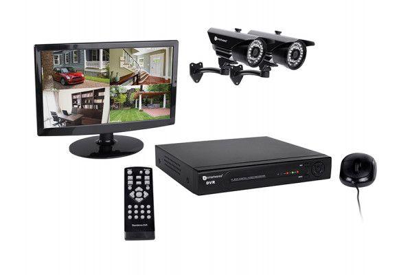 Byron DVR724S 4 Channel HD CCTV System