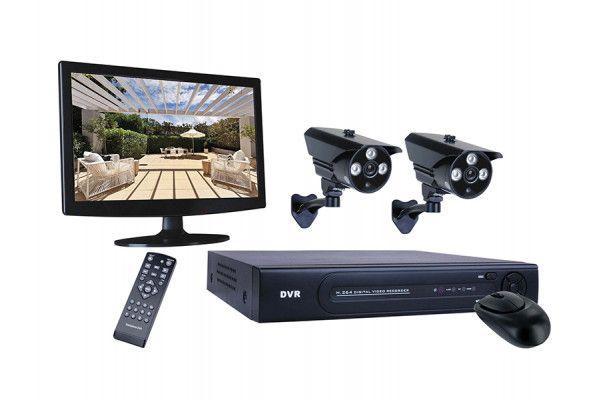 Byron DVR728S 8 Channel HD CCTV System