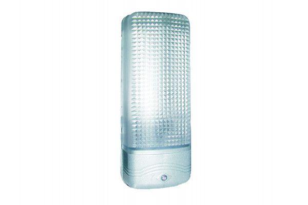 Byron ES81A Plastic Security Light Chrome