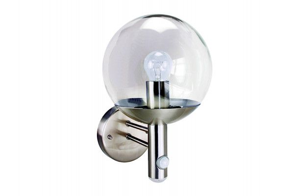 Byron RVS46LA Stainless Steel LED Security Light With PIR