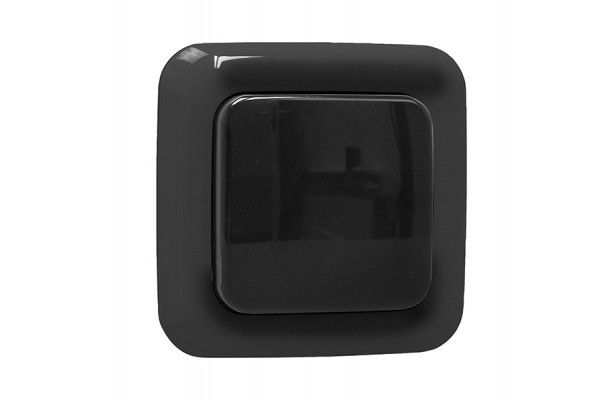 Byron Smarthome Outdoor Remote Control 1G Single Switch Black