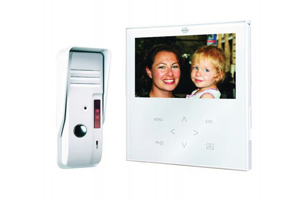 Byron VD71 Video Door Intercom Elegant Touch