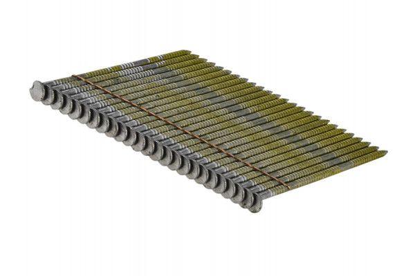 Bostitch 2.8 x 75mm 28° Stick Nail Ring Shank Bright (2000)