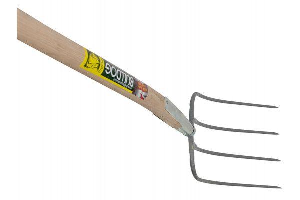 Bulldog Manure Fork 4 Prong 1200mm (48in) Handle