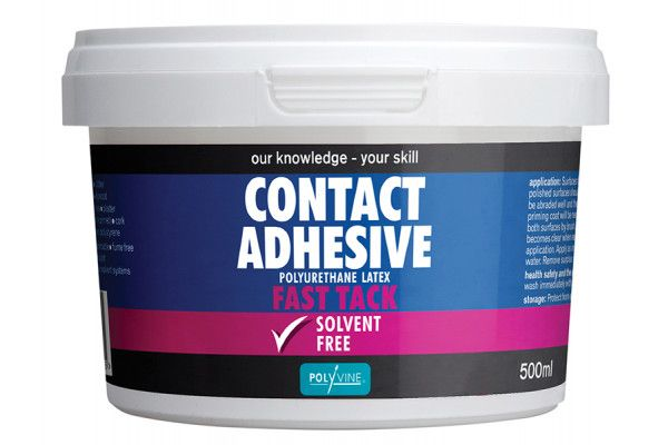 Polyvine, Contact Adhesive Solvent Free Fast Tack