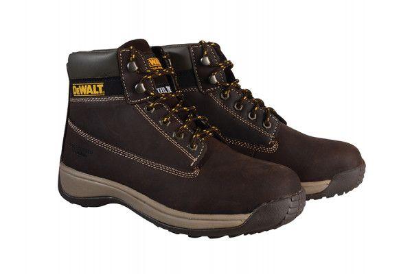 DEWALT Apprentice Hiker Brown Nubuck Boots UK 10 Euro 44