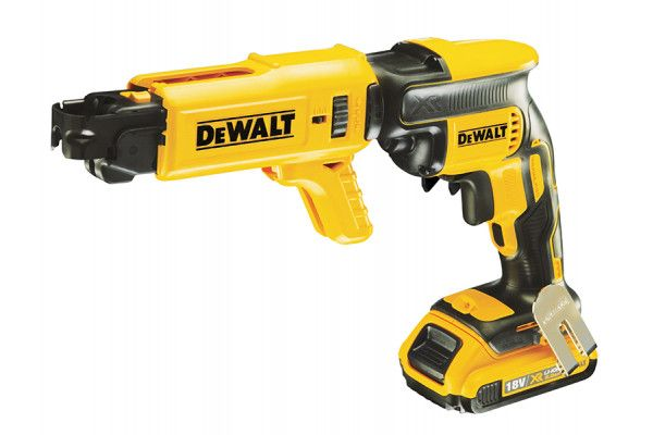 DEWALT DCF620D2K Brushless Collated Drywall Screwdriver 18V 2 x 2.0Ah Li-Ion
