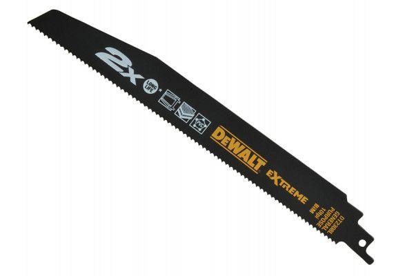 DEWALT 2X Life General Purpose Reciprocating Blades 228mm Pack of 5