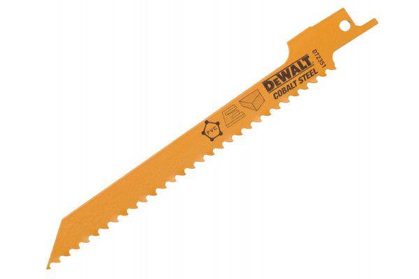 DEWALT Sabre Blade Fine Fast Cuts & Curve Cutting in Wood 152mm Pack of 5