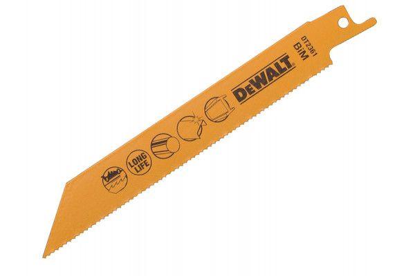 DEWALT Bi-Metal Metal Cutting Reciprocating Blade 152mm Pack of 5