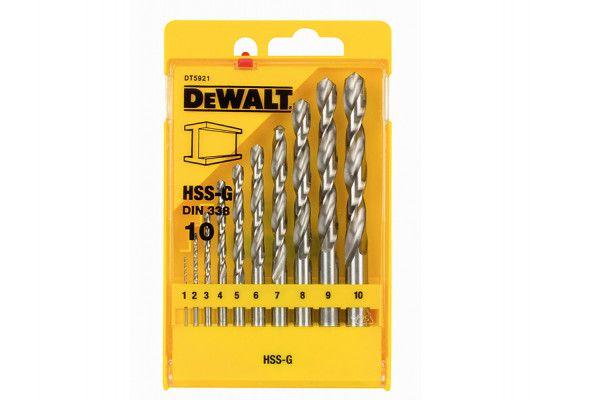 DEWALT Extreme Metal Drill Bit Set of 10 1 - 10mm
