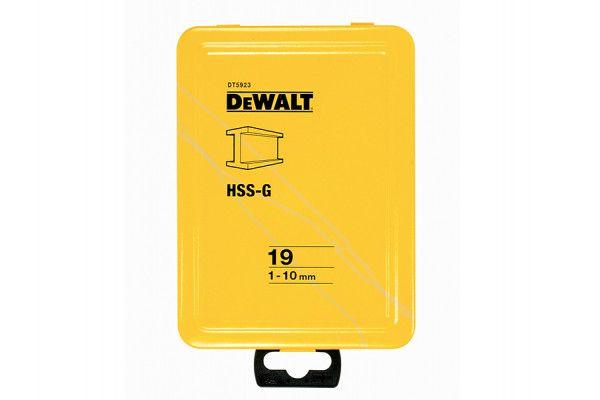 DEWALT Extreme Metal Drill Bit Set of 19 1 - 10mm