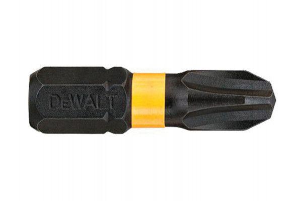 DEWALT Impact Torsion Bits PH3 25mm Pack of 5