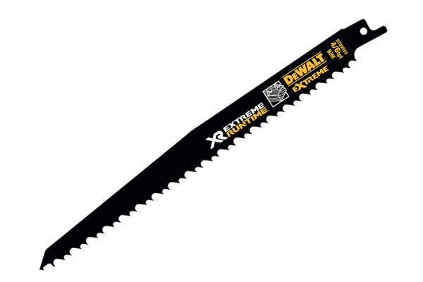 DEWALT FlexVolt XR Wood With Nails Reciprocating Blades 230mm 4/6 TPI Pack of 5