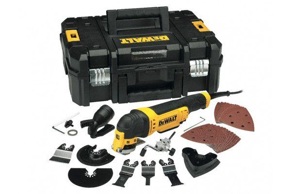 DEWALT DWE315KT Multi-Tool Quick Change Kit & TSTAK 300W 110V
