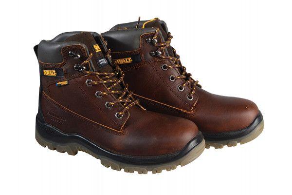 DEWALT Titanium S3 Safety Tan Boots UK 10 Euro 44