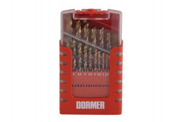 Dormer A095 Comp HSS TiN Drill Set of 19 1.0-10 x 0.5mm